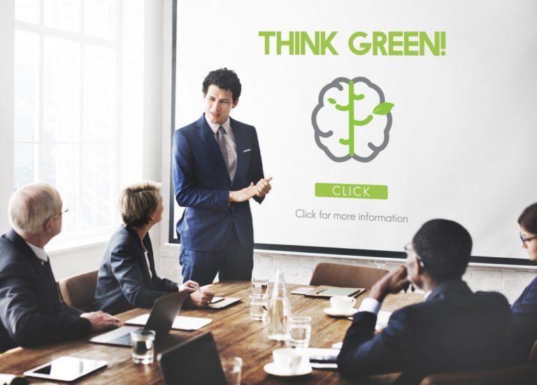 reducing carbon footprint concept