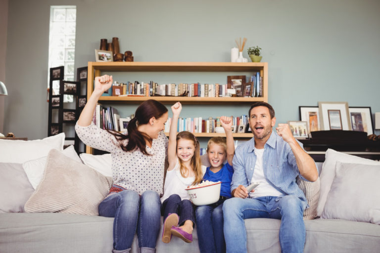 family bonding concept