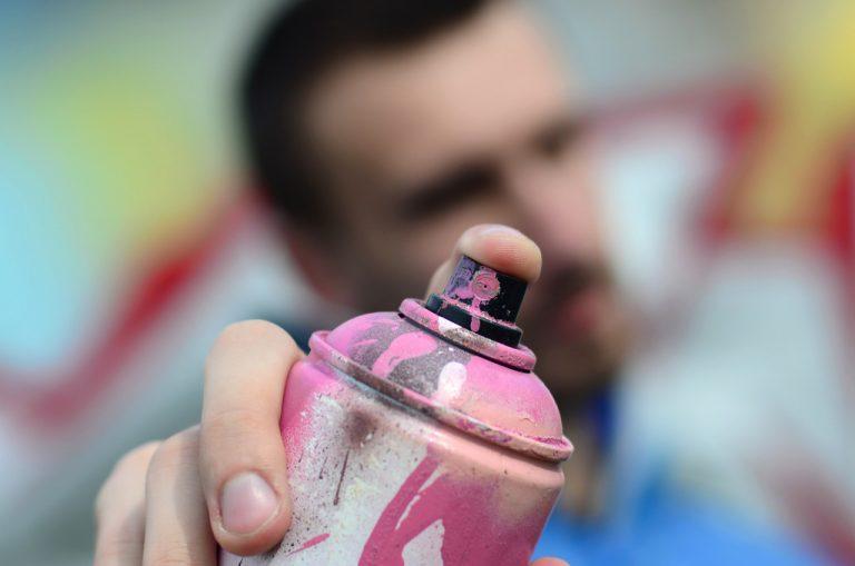 spray paint concept