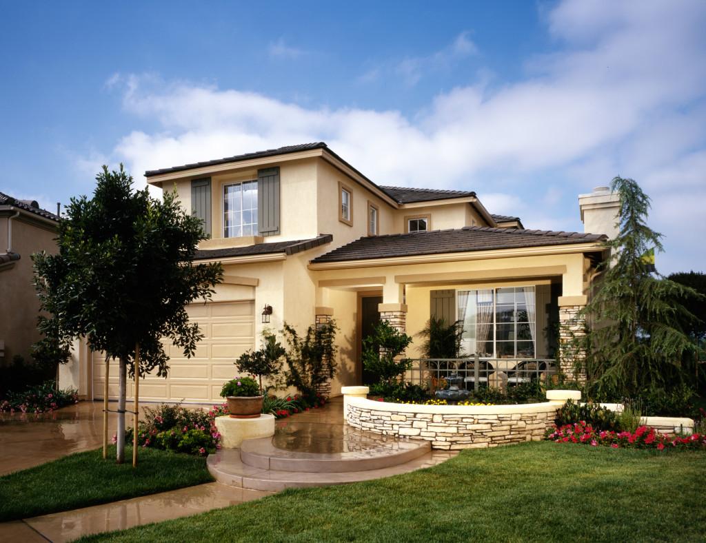 upgraded house